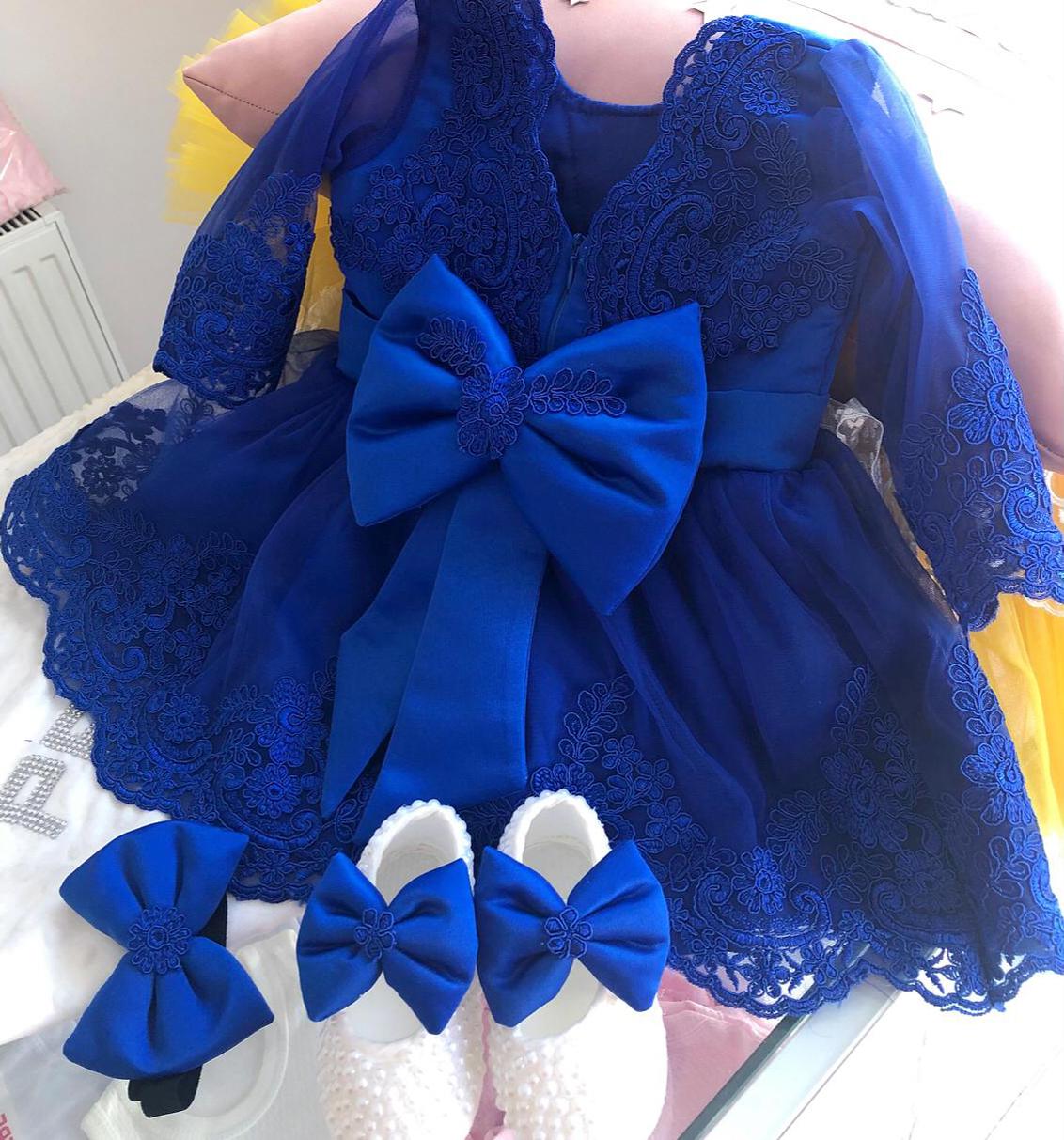 lacivert-dantelli-kiz-bebek-elbisesi
